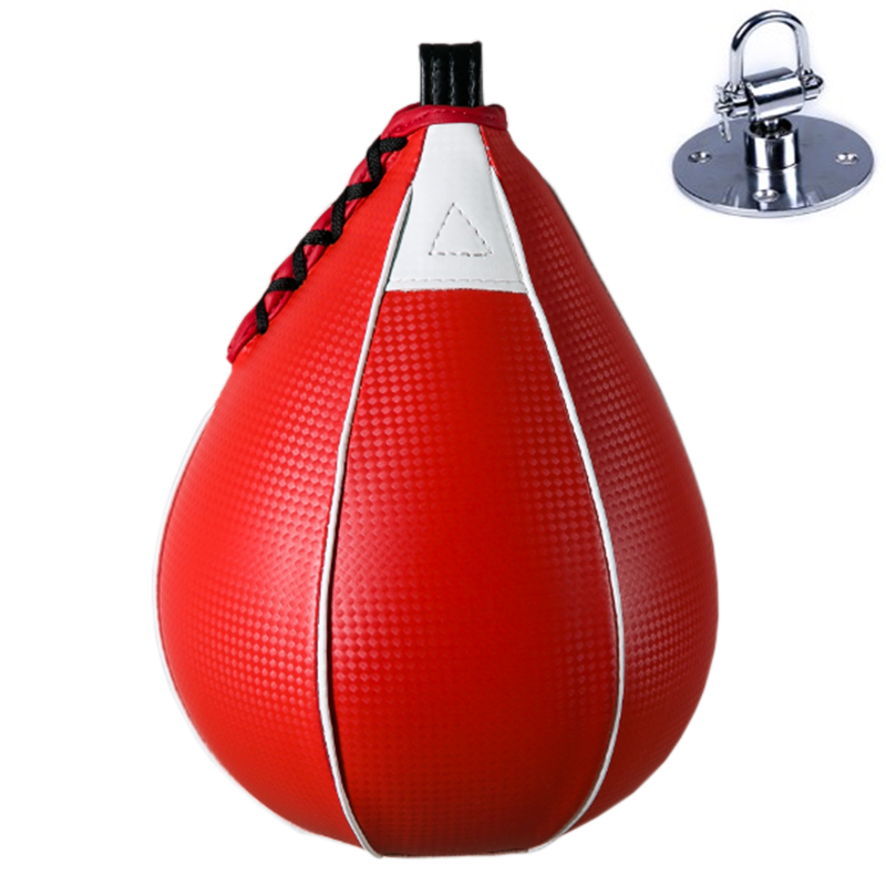Double End Speed Ball Boxing Punching Bag Speedball Swivel Gym Fitness Training