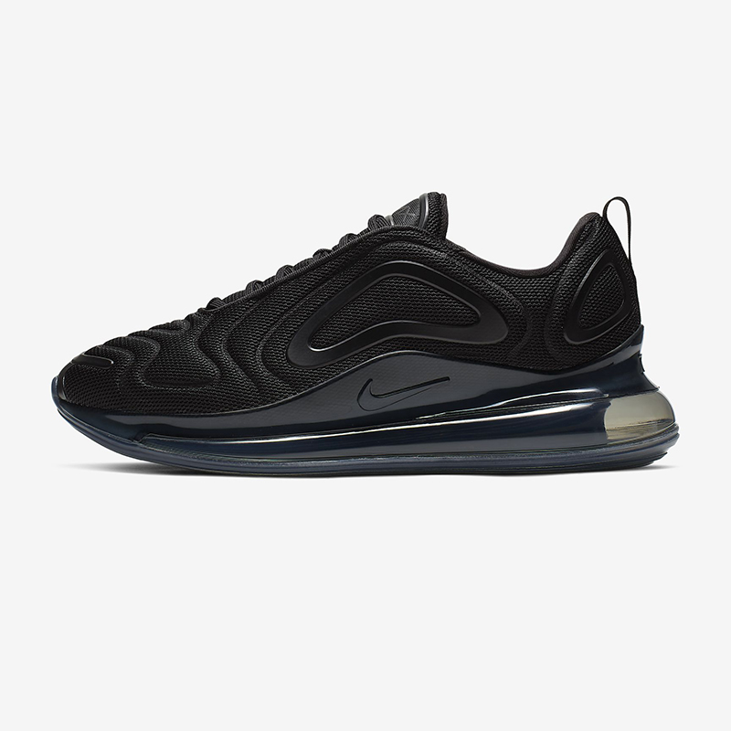 Mens Athletic Sneakers shoes Nike Air Max 720 AR9293 023 in black white AR9293 023