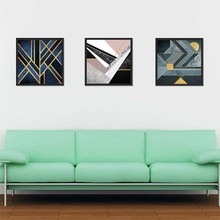Abstract Still Life Wall Art Canvas Painting Geometric Element Stripes Nordic Poster Love Gift For Modern Home Decoration