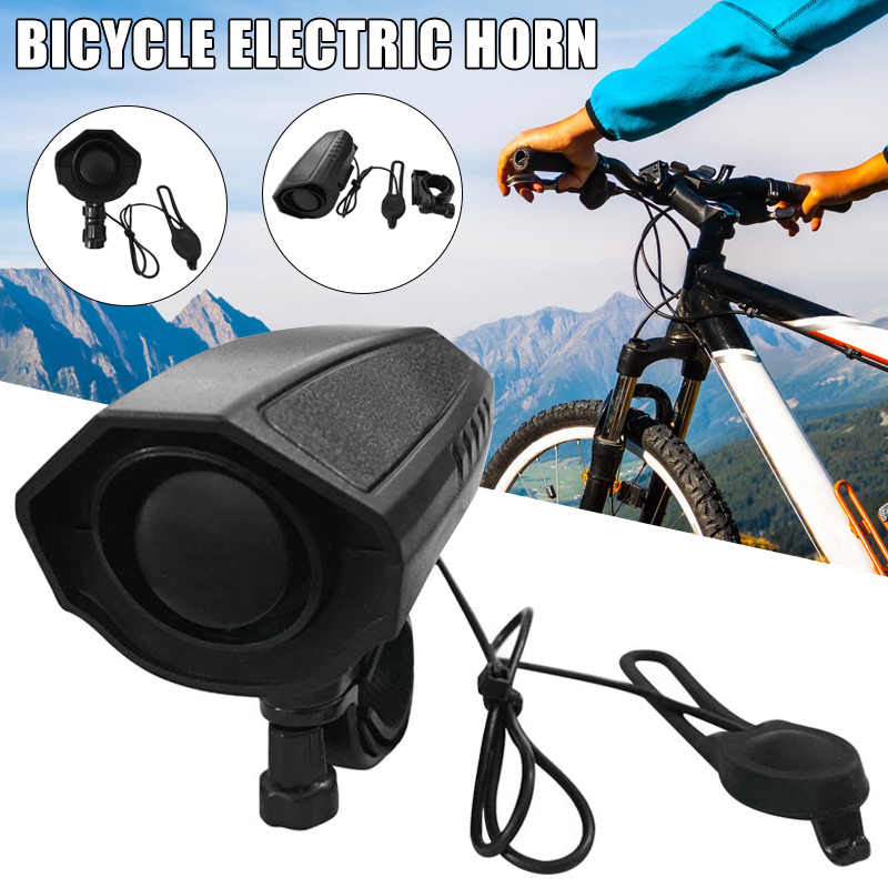 manillar 110 DB timbre de bicicleta Bocina eléctrica para bicicleta-5 modos