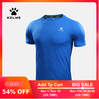 KELME männer Fußball Basketball Laufen T-shirt Trainning & Übung Gym Quick Dry Fitness Sport Atmungsaktives Compression 871002