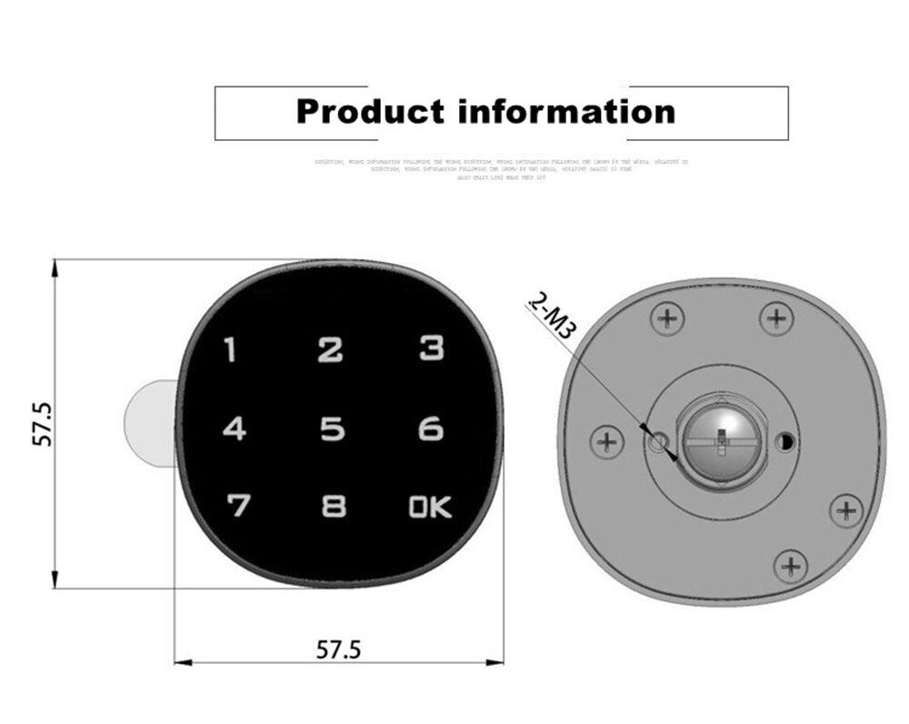 electronic lock (9)