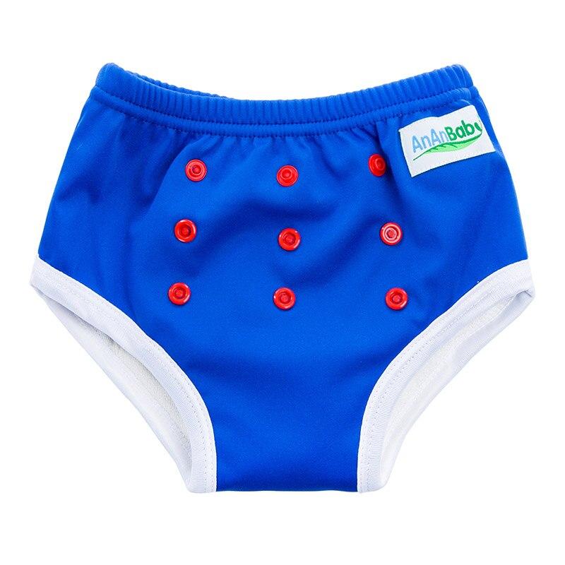 Reusable Waterproof Training Pants Bamboo Training Pants Diapers Bule Color Training Pants TA22