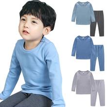 Toddler Kids Baby Clothes Sets Girls Boys 100% Cotton Tops T-shirt Long Pants Children Kids Outfits Set Long Sleeve Tshirt Pants цена 2017