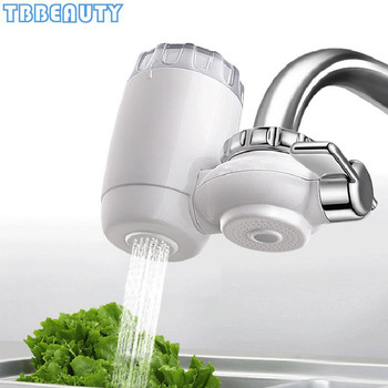 Faucet Water Purifier Kitchen Tap Washable Ceramic Percolator Water Filter Filtro Rust Bacteria Removal Water Cleaner Household kitchen faucet tap water purifier washable ceramic percolator household water purifier ceramic activated carbon filter element