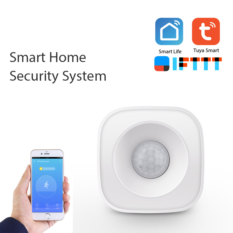 WIFI PIR Motion Sensor Human Body Sensor Smart Body Movement Wireless Passive Infrared Detector Zigbee Use With Gateway TUYA App