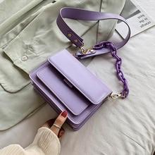 Chain Design Mini PU Leather Flap Bags For Women Summer Lady Shoulder Handbag Female Fashion Cross Body Bag Purses And Handbags цена 2017
