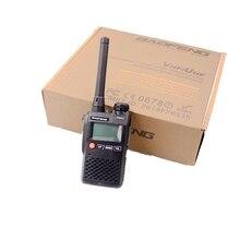 Baofeng UV 3R mini protable tansceiver banda dupla 5 w 136 174/400 520mhz rádio em dois sentidos