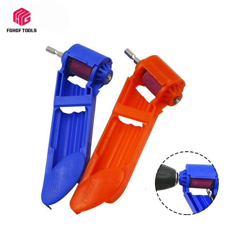 FGHGF Portable Drill Grinder Bit Kit Grinding Sharpener Wheel Electric Knife Twist Drill Mini Angle Grinding Machine Power Tool