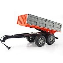 RC Truck Farm 2.4G Remote Control Trailer Rake 1:16 High Simulation 38.5CM Construction Vehicle Chil