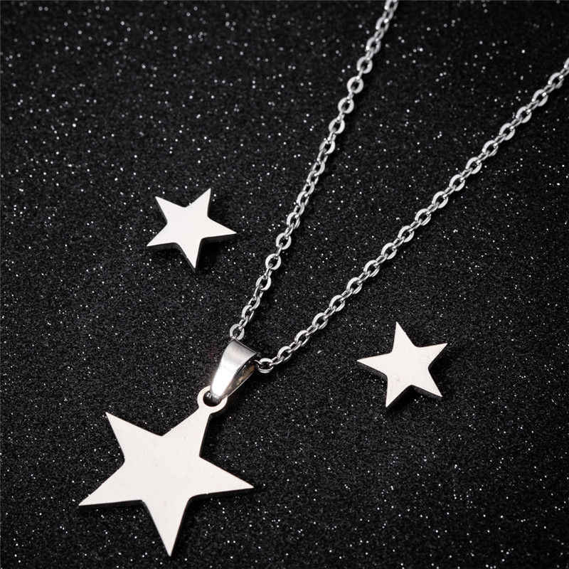 Sasusp Cartoon Mickey Bike Heartbeat Pendant Necklace For Women Men Stainless Steel Chain Necklace Jewelry 2019