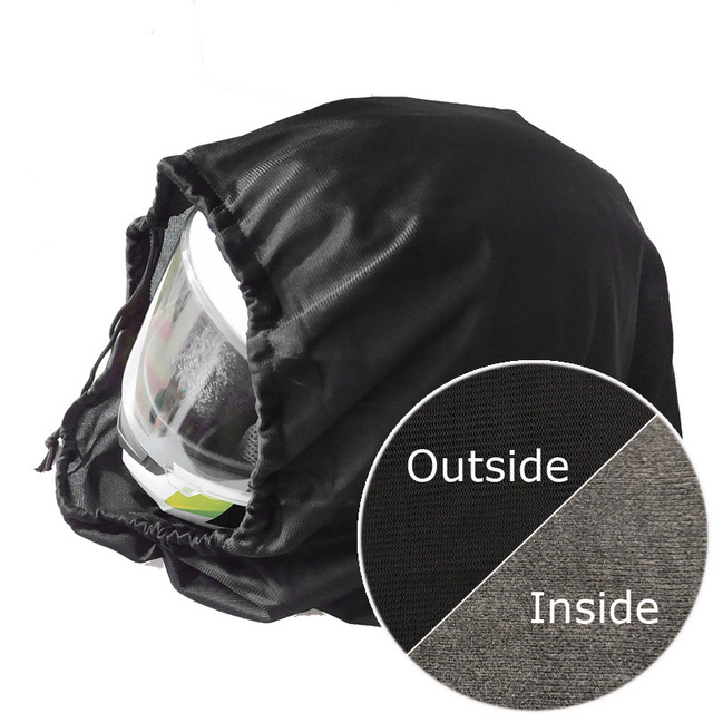 47x42cm Drawstring Water Drawstring Pocket Motorcycle Helmet Lid Protect Bag Helmet Protection Bag Dust Bag Soft Cloth