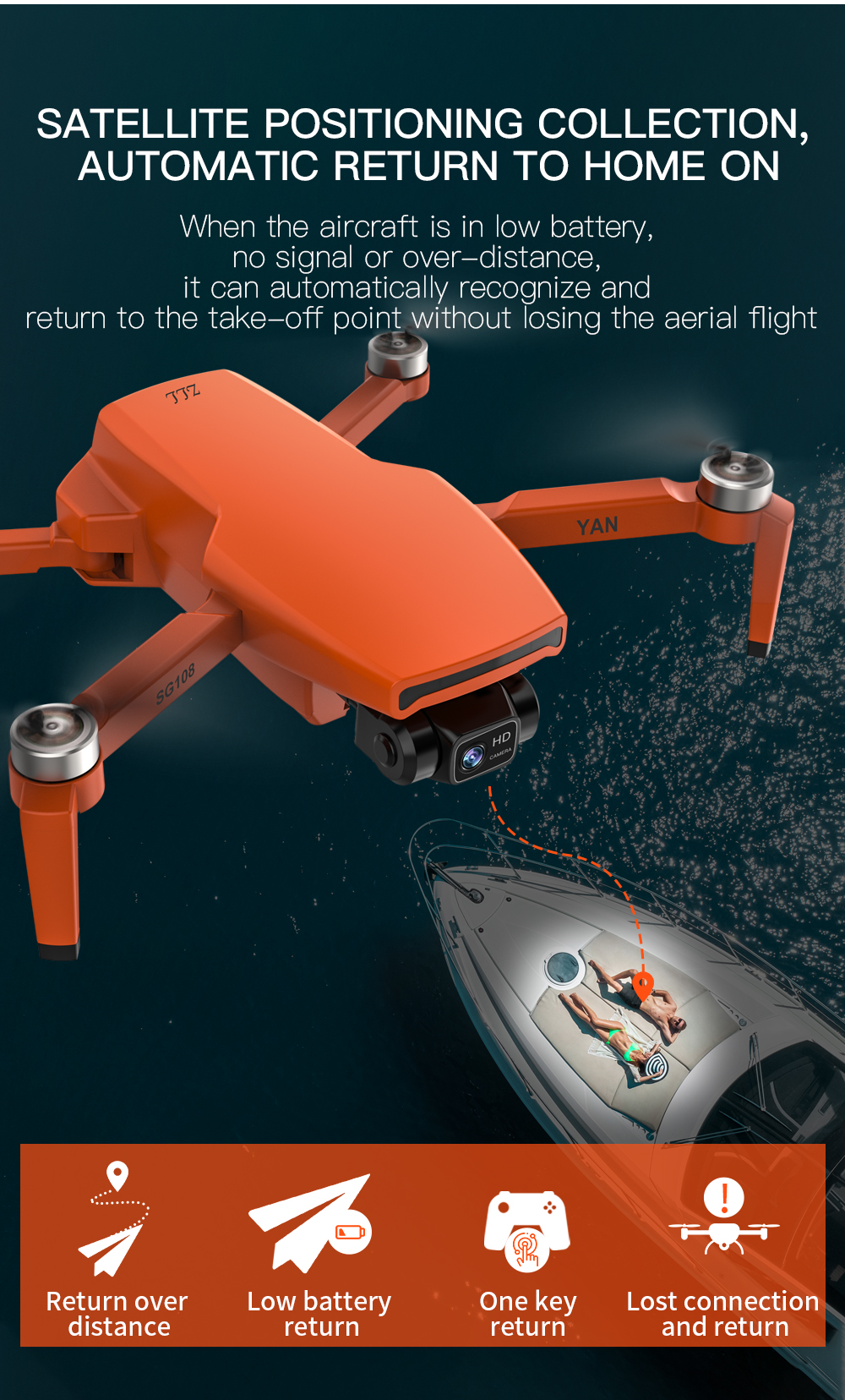 Hfe77bb47156541929eb3dc97aaf26404n - ZLL SG108 Pro GPS Drone With 5G Wifi FPV 4K HD Dual Camera Brushless RC Foldable Quadcopter 1000m Control Distance Dron VS KF102