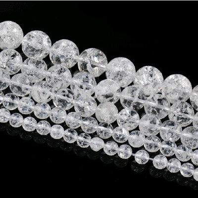 Wholesale Pure Loose Natural Stone Beads More Clear Quartz Crystal Beads A 6-12mm Rock Popcorn Diy Beads For Jewelry Making