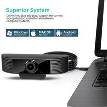 Веб камера с микрофоном вращающаяся на 30 градусов 20 hd 1080p