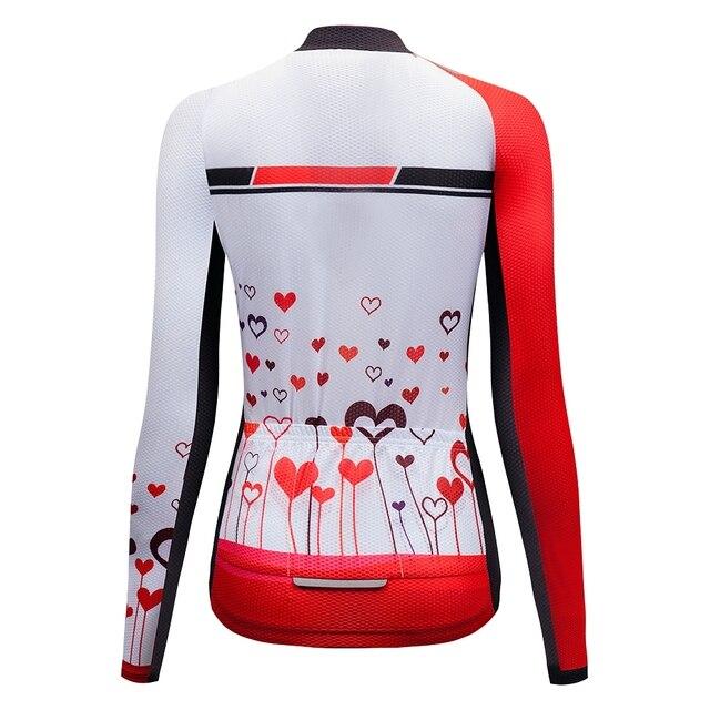 Maillot de cyclisme pour femmes, style rétro, tenue de course de Motocross, chemise de course pour faire du vélo ou des vtt, 2020