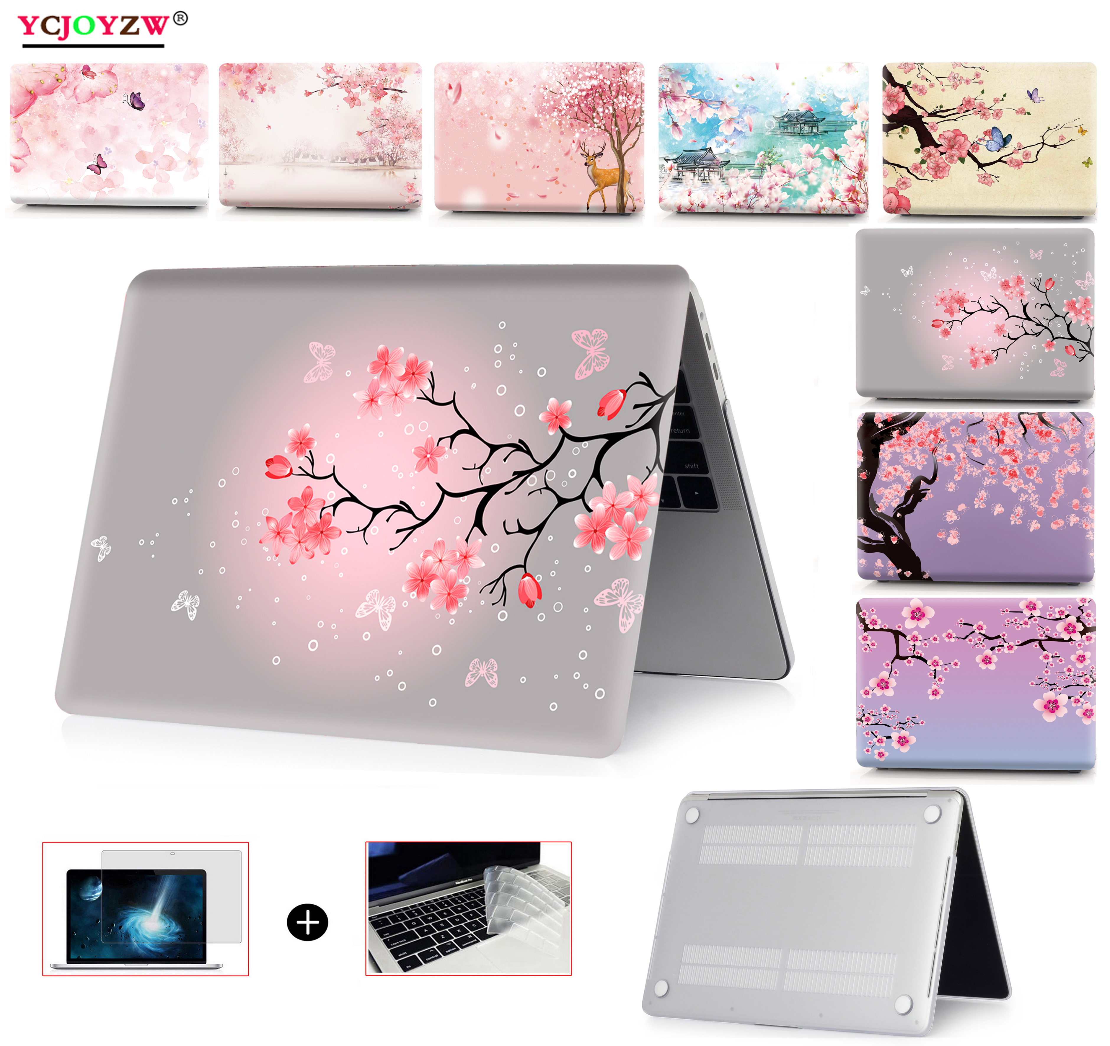 Новый чехол 2020 cherry для MacBook Air 13 A1466 A1932 A2179 Pro Retina 11 12 13 15 16 дюймов A2251 A1706 A1708 A1989 A2159