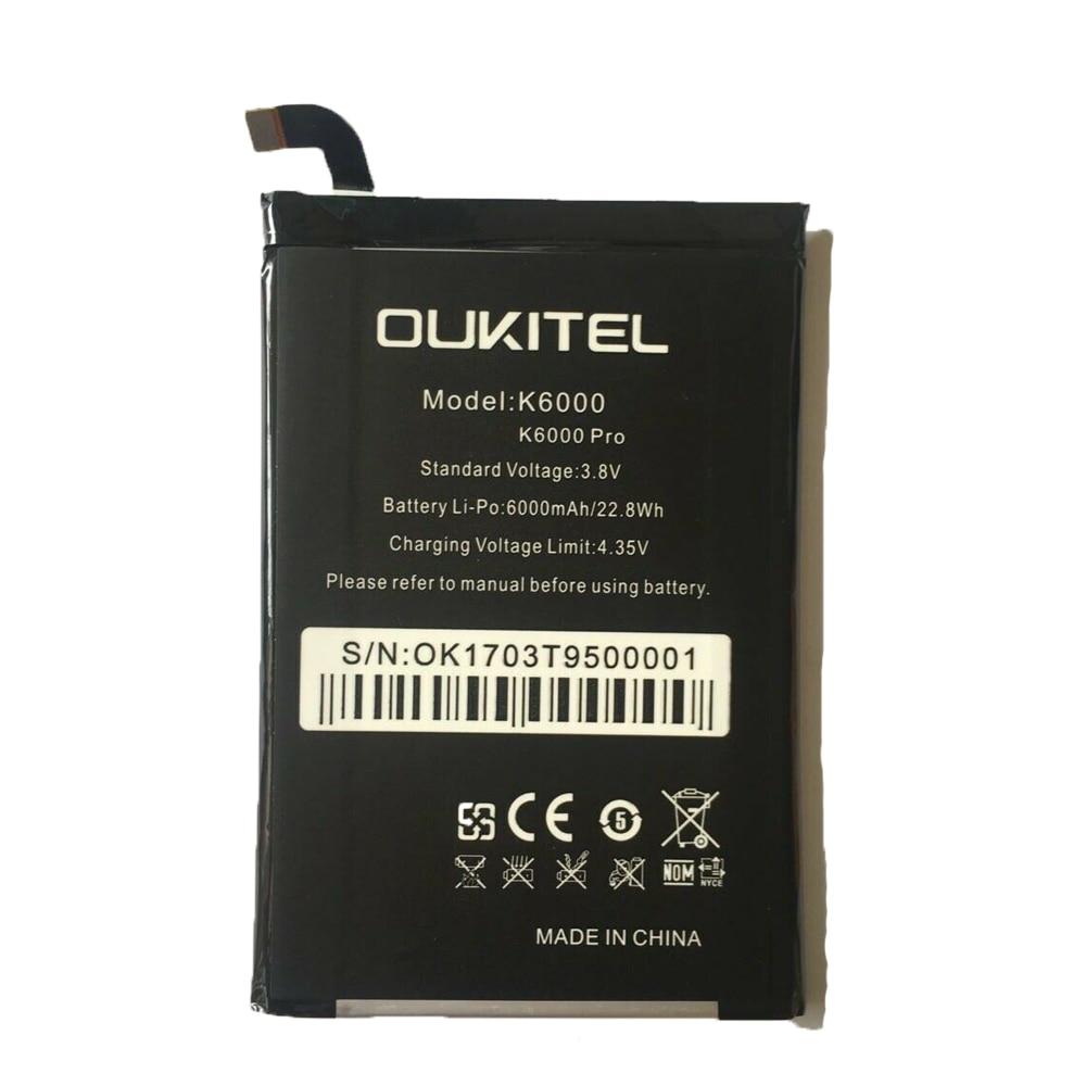 US $6.99 20% СКИДКА|Новая высокая емкость для Oukitel K6000 6000mAh Аккумулятор Перезаряжаемый Мобильный телефон батареи для Oukitel K6000 Pro смартфон|Аккумуляторы для мобильных телефонов| |  - AliExpress