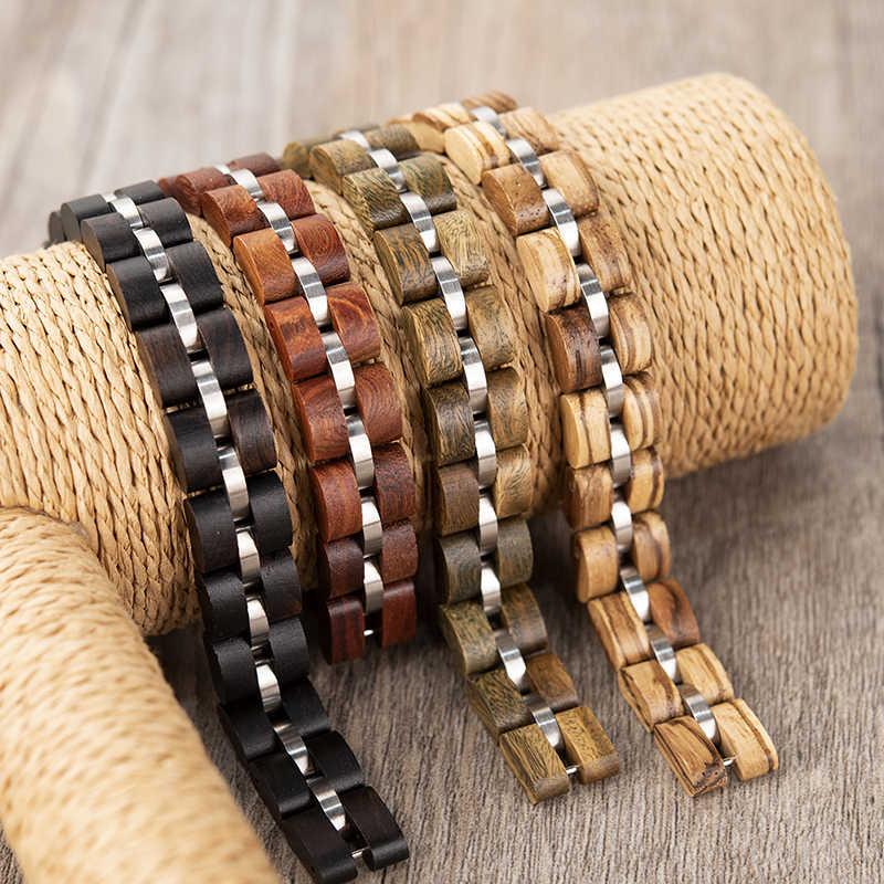Erkek bileklik БОБО птица мужской браслет модные часы полосы элегантные ювелирные изделия женские браслеты отличный подарок C-bS05