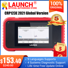 Diagnostic-Tool Car-Scanner Creader Automotive Lauch X431 Crp123-Upgrade 4-System New