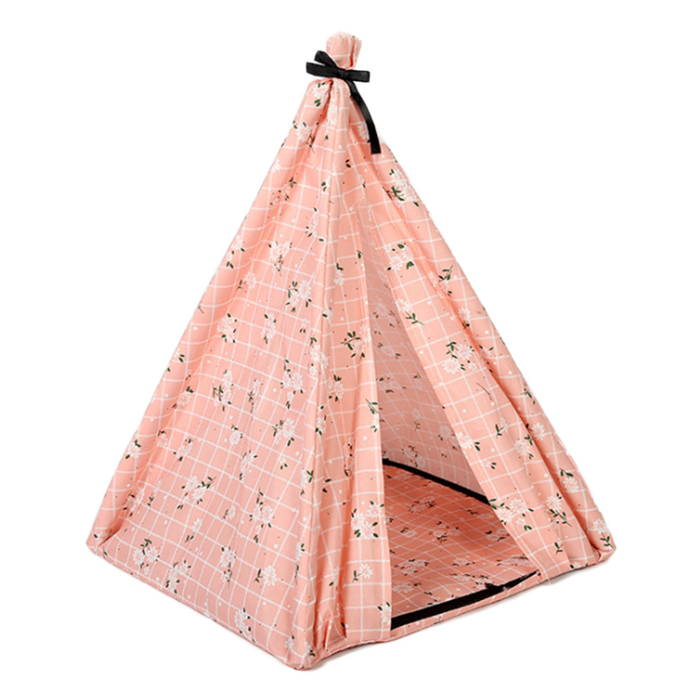 Pet House Tent Shaped Pet Cozy House Cat Home Small Dog Cat Foldable Bed Cat House Puppy Kitten Bed Animals Home Products 3