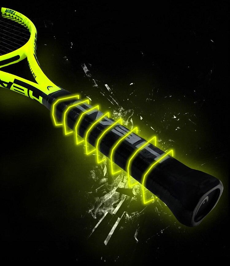 Profissional cabeça raquete de tênis composto carbono