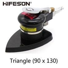 Polishing-Machine-Tool HIFESON Wood-Grinder Pneumatic-Sander Car-Interior Triangle High-Quality