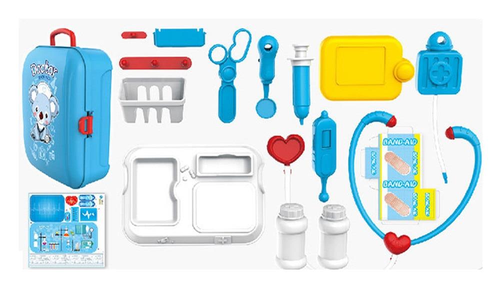 Kids Preschool Doctor/'s Medical Playing Set Education Kits Cute Toy Pretend Play