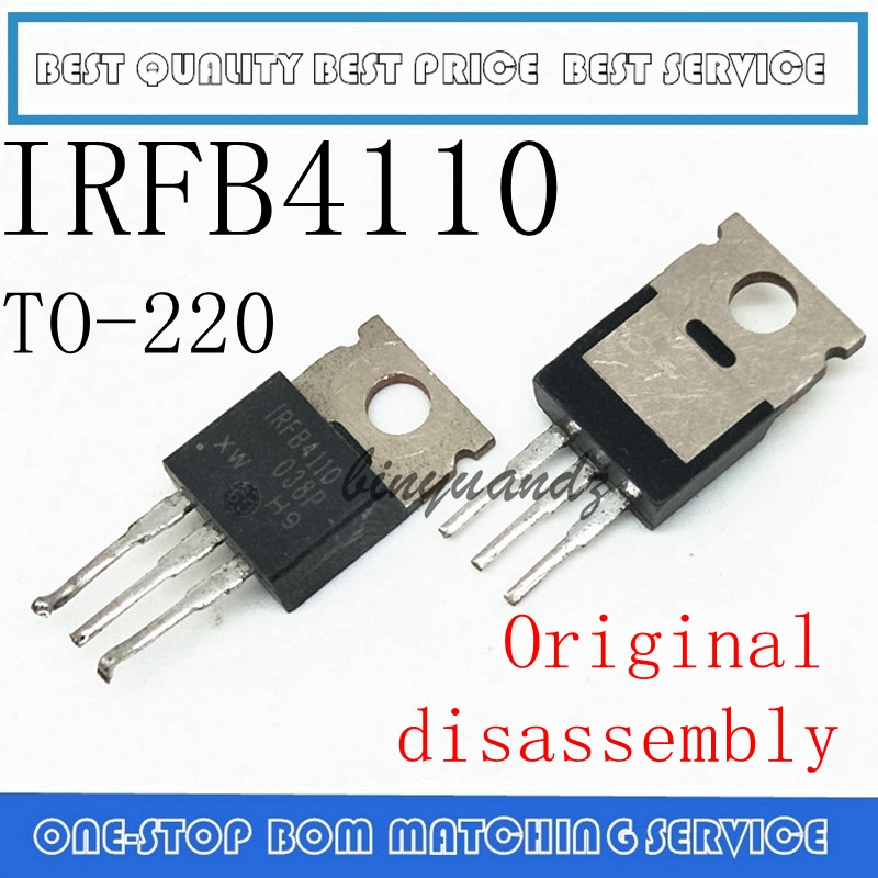 10PCS-50PCS IRFB4110PBF TO220 IRFB4110 B4110 TO-220  MOS FET transistor Original disassembly