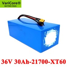 Scooter-Battery Tricycle 21700 Varicore Protection 30ah 800W 10S6P 36V 42v Bike Wtih-Bms
