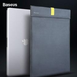 BASEUS Laptop Tas Lengan untuk MACBOOK AIR 13 Case Super Tipis Double-Layer Komputer Kapal Kantong Case untuk Macbook pro Tas Notebook