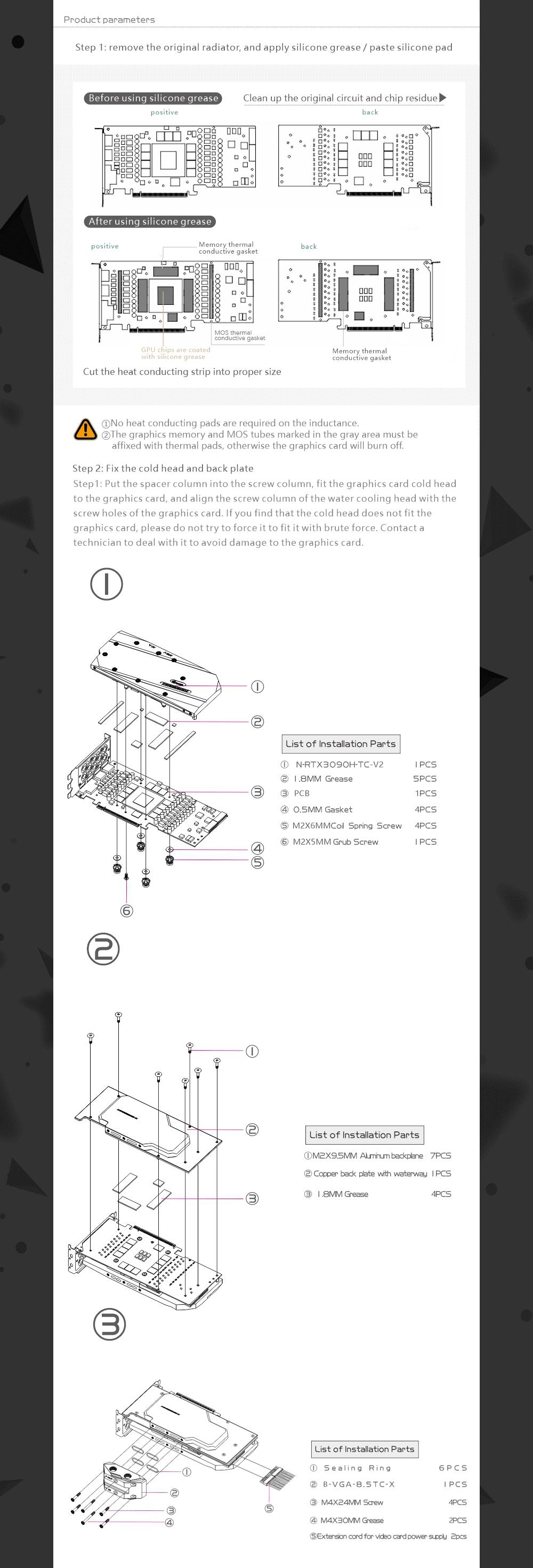 Bykski N-GV3090GMOC-TC GPU Water Block With Waterway Backplane For GIGABYTE RTX 3080 3090 Gaming / Eagle / Turbo / Vision