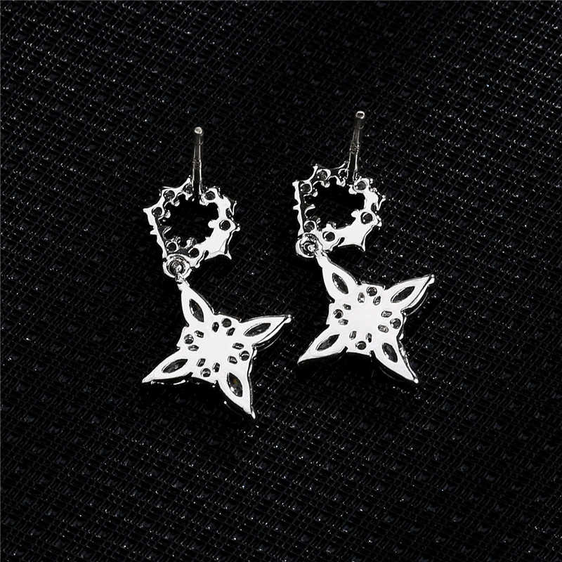 S925 argent aiguille Micro-incrustation Zircon trèfle boucles d'oreilles femmes Top qualité marque boucles d'oreilles de luxe corée bijoux Z151