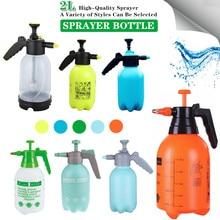 Nova mão pressão de ar gatilho desinfecção pulverizador garrafa ajustável jardim spray garrafa compressão ar 2l pulverizador rega pode