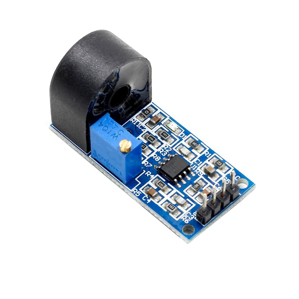 5A Range Single Phase Ac Active Output Current Transformer Module Current Sensor Onboard High Precision Op Amp Circuit