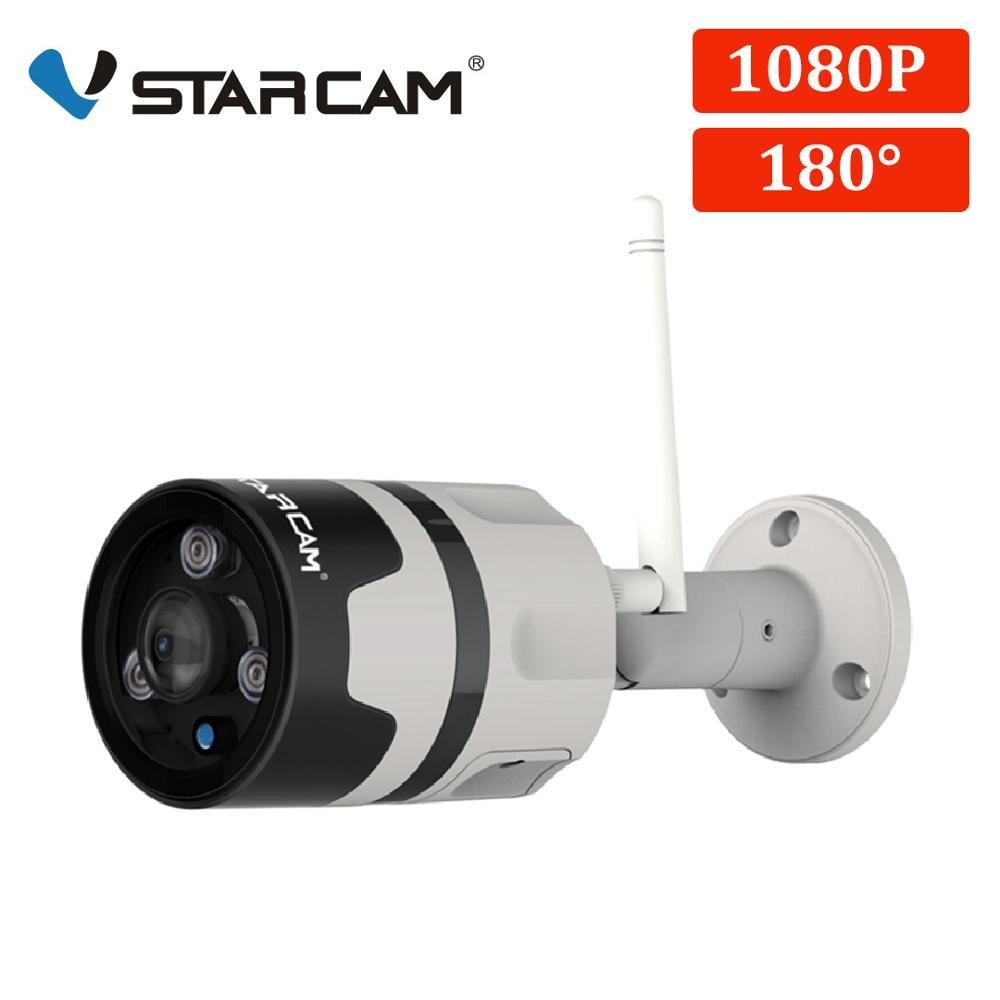 Vstarcam 1080 p câmera ip ao ar livre wi fi câmera ip66 à prova dwaterproof água detecção de movimento visão noturna panorâmica câmera bala c63s