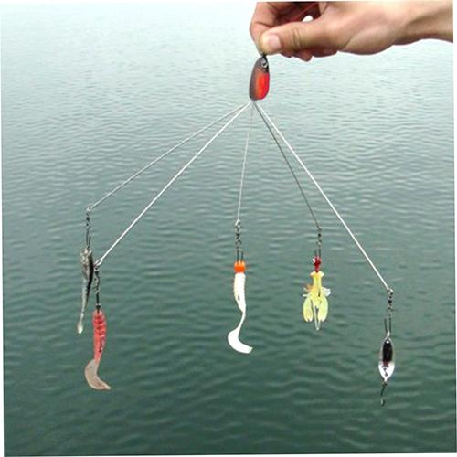 Fishing Hook Combination Multifunctional Outdoor Camping Fish Lure Equipment Fishing Tackle Combination Length 20cm