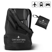 Новейшая детская безопасная сумка для хранения сидений, детская Автомобильная накидка, детские принадлежности для детских колясок, ранец, складная сумка для коляски