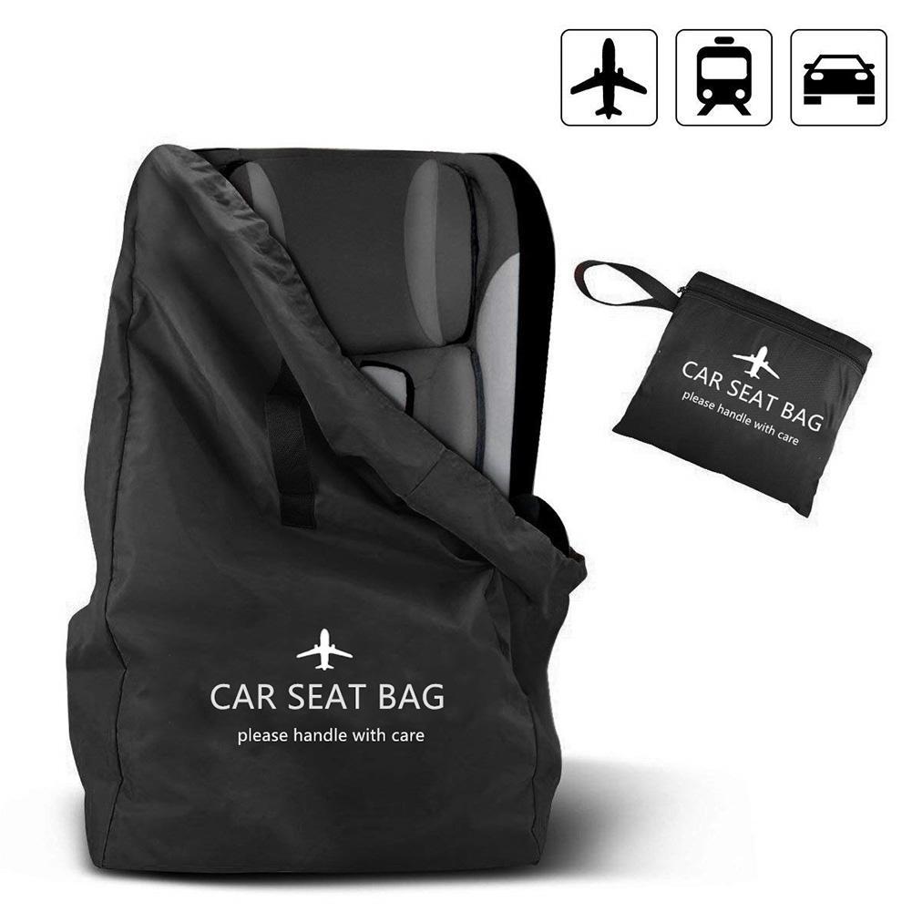 2019 Newest Children Safety Seat Storage Bag Kids Car Seat Cover Baby Stroller Accessories Pram Knapsack Stroller Travel Bag