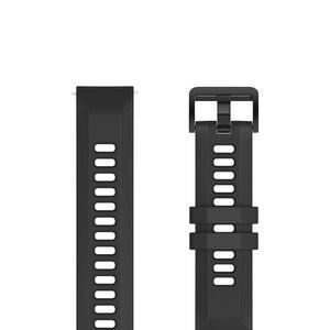 Image 2 - Bracelet de montre Original 22mm (largeur) Bracelet en silice pour Xiaomi Huami Amazfit GTR (47mm) Pace Stratos série