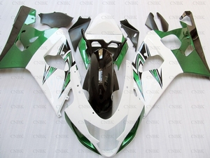 Bodywork for GSX R 600 2004 GSXR 600 Plastic Fairings 2005 for Suzuki GSXR750 Fairings 2004 - 2005 K4 White Green(China)