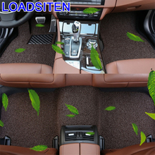 Decoration Parts Automovil Modification Styling Modified Accessory Auto Automobile Carpet Car Floor Mats FOR Nissan Livina