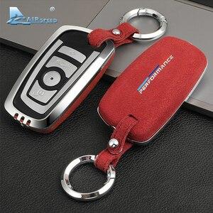 Image 3 - Capa para chave de carro de airspeed, cobertura para chave em carro para bmw f22 f30 f36 f10 f13 f01 f25 f26 f15 f16 f48 acessórios f39, g30, g11, g05, g01, g02