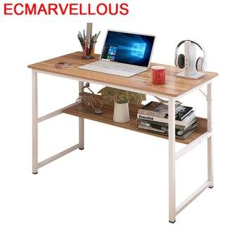 Biurko pequeño Escritorio muebles de oficina soporte Ordinateur cama  portátil Tavolo Mesa de estud