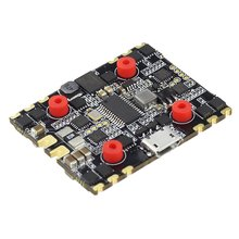 Zeus35 AIO 3-6S F4 Flight Control Module 35A BLS 4in1 ESC 20X20 Metal For FPV RC Racing Drone Accessorry darwinfpv betaflight f4 v3s flight control built in image filtering osd 35a 4 in 1 esc flytower for fpv rc drone