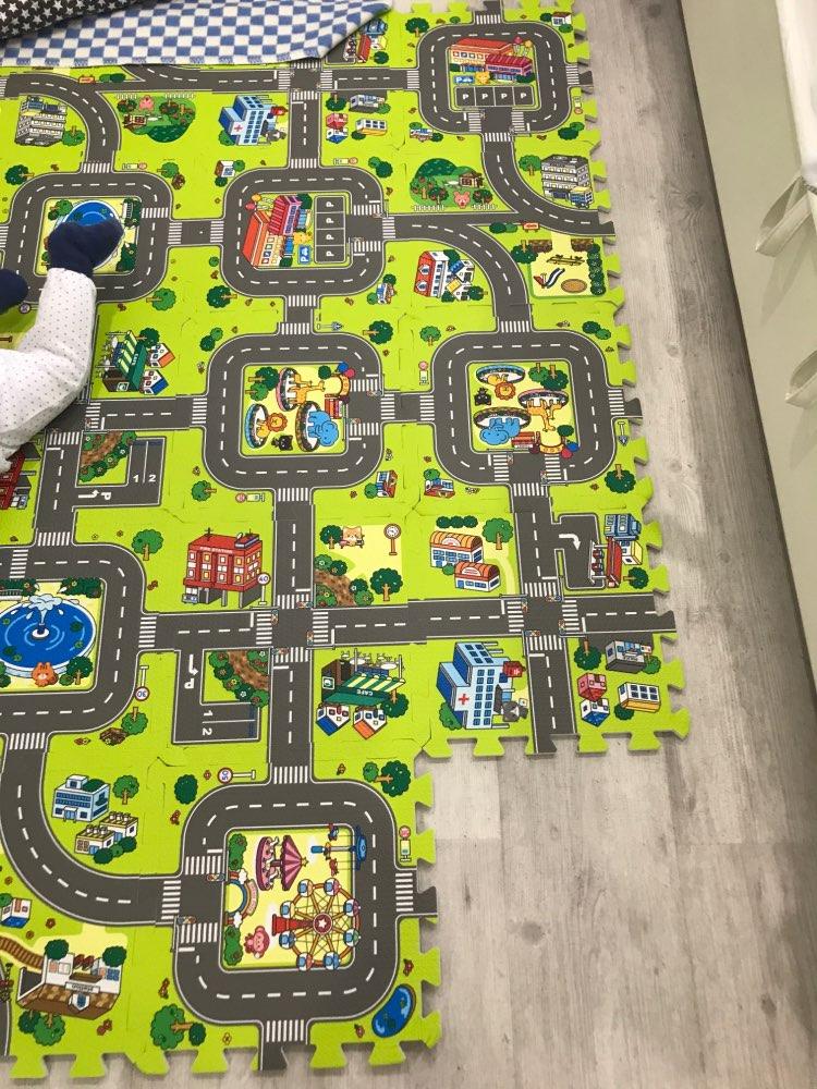 Hfe7b5912548c450fb2d0f33f4b790c2dg Baby EVA Foam Play Puzzle Mat for kids Interlocking Exercise Tiles Floor Carpet Rug Each 30X30cm18 9/18pcs Playmat Crawling Mat