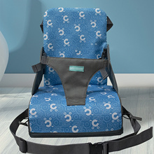 Chair-Pad Dining-Cushion Portable Kids Seat Furnitur-Booster Increased Baby Children