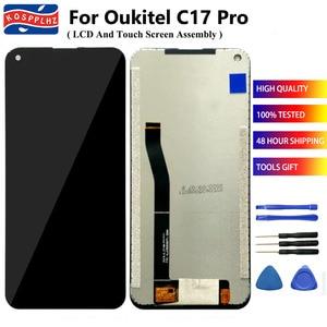 "Image 1 - KOSSPLHZ pantalla LCD para Oukitel C17 Pro, Digitalizador de pantalla táctil reemplazo del ensamblaje del Panel Oukitel C17Pro, pantalla de 6,35"""