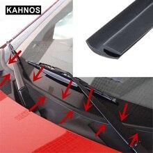 1 8 8 m pára brisa vedação de borracha dianteiro traseiro pára brisas sunroof tiras vedação tira dustproof para carro auto painel pára brisa