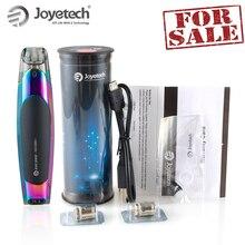 100% מקורי Joyetech יעלה על קצה ערכת עם 2ml Eliquid EX 1.2ohm סליל מובנה 650mAh סוללה ישיר פלט חלשות E סיגריה